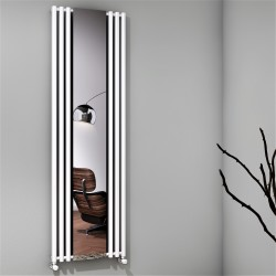 Bahama Dekoratif Radyatör 540x1760 Beyaz - Thumbnail