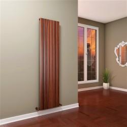 Tip 10V Dekoratif Radyatör 1800x440 Ahşap Film (Dikey Radyatör) - Thumbnail