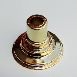 - Havlupan Boru Gizleme Kılıfı 2 Parçalı Geçmeli Plastik Altın Renkli (1)