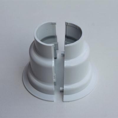 Havlupan Boru Gizleme Kılıfı 2 Parçalı Geçmeli Plastik Beyaz