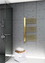 Male Dekoratif Havlupan 600x1190 Altın Renkli - Thumbnail