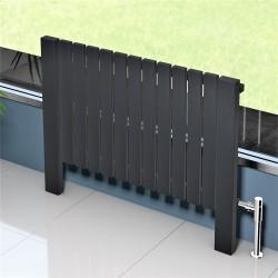 Mykonos Dekoratif Radyatör 1000x800 Antrasit - Thumbnail