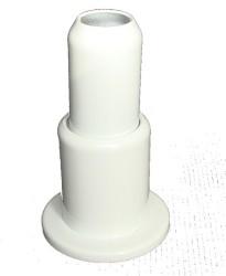 - Tekli Radyatör Boru Gizleme Kılıfı Yaylı Beyaz (1)